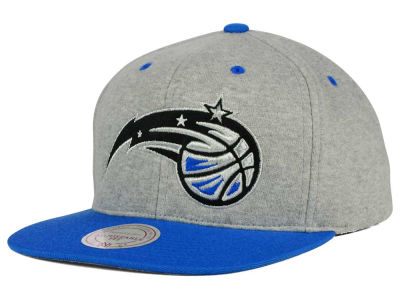 Orlando Magic Mitchell and Ness NBA Heather Jersey Snapback Cap