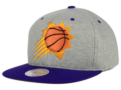 Phoenix Suns Mitchell and Ness NBA Heather Jersey Snapback Cap
