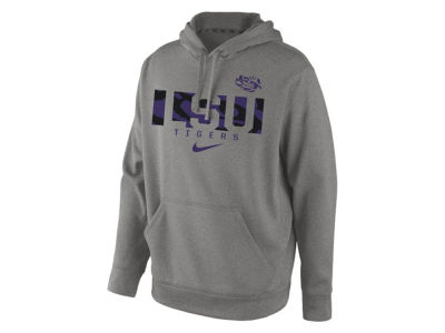 LSU Tigers Nike NCAA Men's Week Zero Performance Hoodie