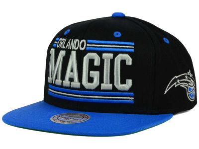 Orlando Magic Mitchell and Ness NBA Team Block Snapback Cap