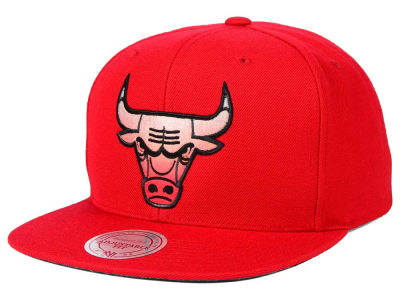 Chicago Bulls Mitchell and Ness NBA Gradient Lines Snapback Cap