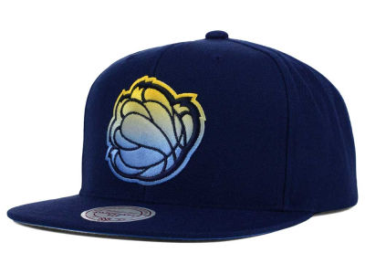 Memphis Grizzlies Mitchell and Ness NBA Gradient Lines Snapback Cap