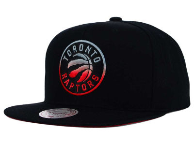 Toronto Raptors Mitchell and Ness NBA Gradient Lines Snapback Cap