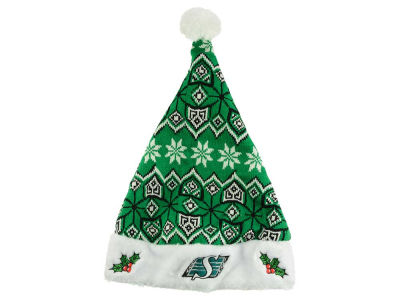 Saskatchewan Roughriders Knit Sweater Santa Hat