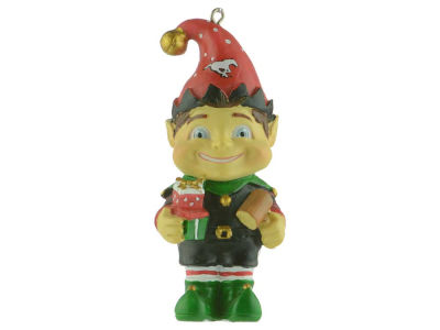 Calgary Stampeders Resin Elf Ornament