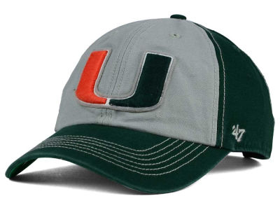 Miami Hurricanes '47 NCAA McGraw '47 CLEAN UP Cap