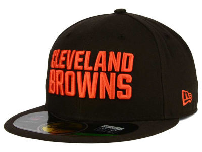 Cleveland Browns New Era NFL 2012 On Field 59FIFTY Cap