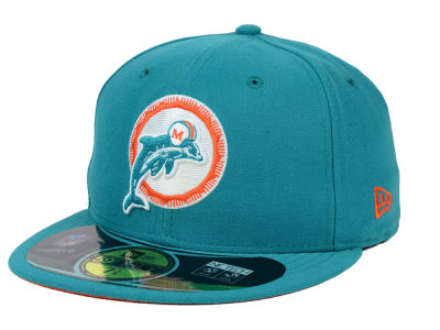 Miami Dolphins New Era NFL 2012 On Field Classics 59FIFTY Cap