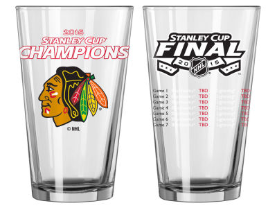 Chicago Blackhawks NHL 2015 Stanley Cup Champ 16 oz Summary Pint - Event