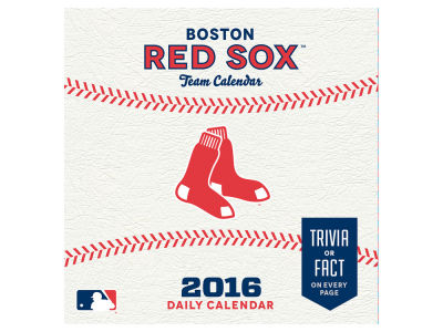 Boston Red Sox 2016 Box Calendar