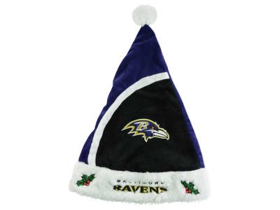 Baltimore Ravens Plush Santa Hat