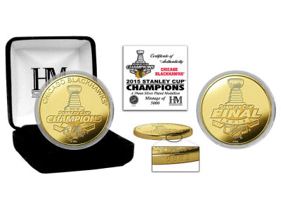 Chicago Blackhawks Gold Mint Coin