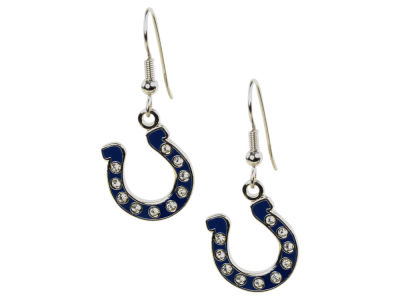 Indianapolis Colts Rhinestone Earrings