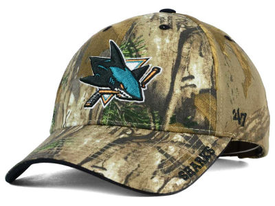 San Jose Sharks '47 NHL Real Tree Frost Cap
