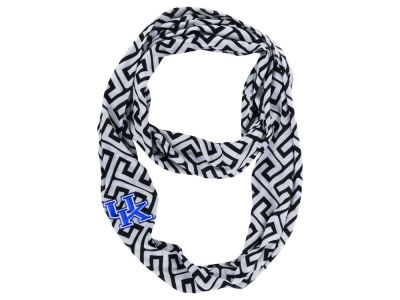 Kentucky Wildcats Greek Key Infinity Scarf