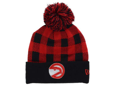 Atlanta Hawks New Era NBA HWC Buff Plaid Knit