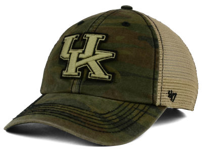 Kentucky Wildcats '47 NCAA '47 Briggs Camo Adjustable Cap