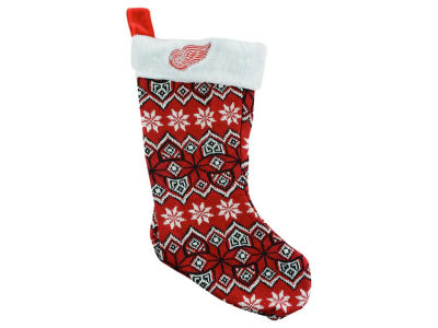 Detroit Red Wings Ugly Sweater Knit Team Stocking