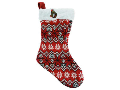 Ottawa Senators Ugly Sweater Knit Team Stocking