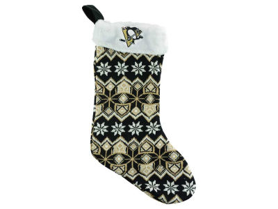 Pittsburgh Penguins Ugly Sweater Knit Team Stocking
