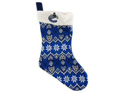 Vancouver Canucks Ugly Sweater Knit Team Stocking