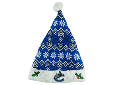 Vancouver Canucks Knit Sweater Santa Hat