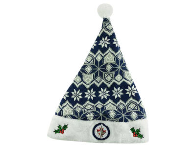 Winnipeg Jets Knit Sweater Santa Hat