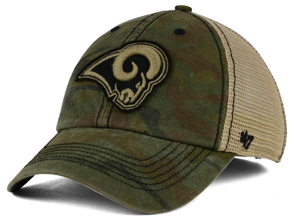 Los Angeles Rams  47 NFL  47 Briggs Camo Cap  41af25c9e
