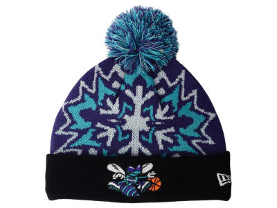 Charlotte Hornets New Era NBA HWC Glowflake 2.0 Knit