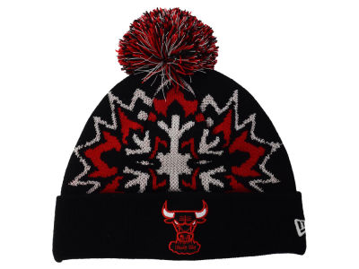 Chicago Bulls New Era NBA HWC Glowflake 2.0 Knit