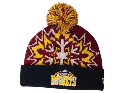 Denver Nuggets New Era NBA HWC Glowflake 2.0 Knit