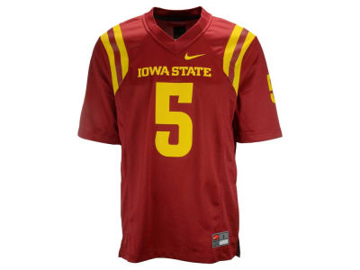 Iowa State Cyclones Nike NCAA Replica Football Game Jersey