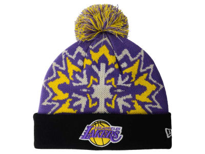 Los Angeles Lakers New Era NBA HWC Glowflake 2.0 Knit