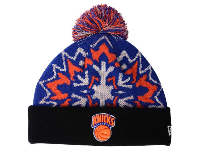 New York Knicks New Era NBA HWC Glowflake 2.0 Knit