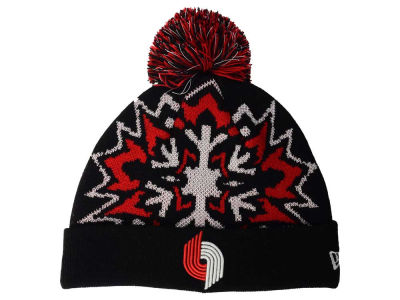 Portland Trail Blazers New Era NBA HWC Glowflake 2.0 Knit