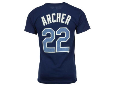 Tampa Bay Rays Chris Archer Majestic MLB Men's Official Player T-Shirt