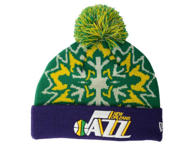 New Orleans Jazz New Era NBA HWC Glowflake 2.0 Knit