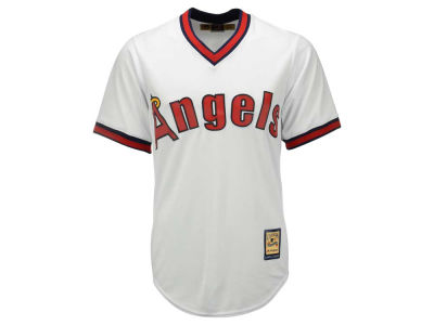 Los Angeles Angels Majestic MLB Men's Cooperstown Blank Replica Cool Base Jersey