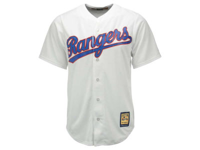 Texas Rangers MLB Men's Cooperstown Blank Replica Cool Base Jersey