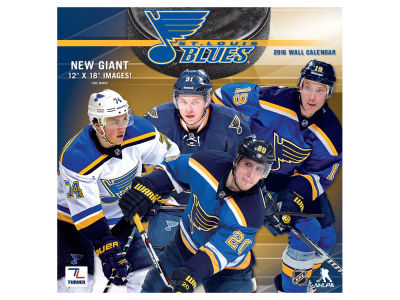 St. Louis Blues 2016 12x12 Team Wall Calendar