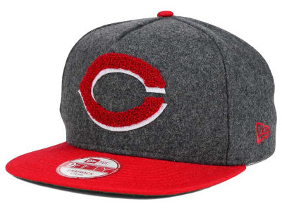 Cincinnati Reds New Era MLB Chenille 9FIFTY Snapback Cap