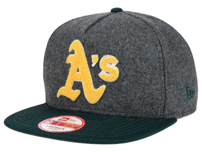 Oakland Athletics New Era MLB Chenille 9FIFTY Snapback Cap