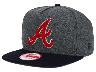 Atlanta Braves New Era MLB Chenille 9FIFTY Snapback Cap
