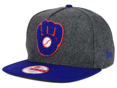 Milwaukee Brewers New Era MLB Chenille 9FIFTY Snapback Cap