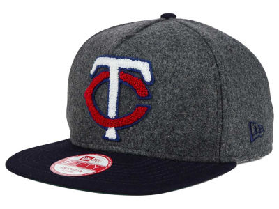 Minnesota Twins New Era MLB Chenille 9FIFTY Snapback Cap