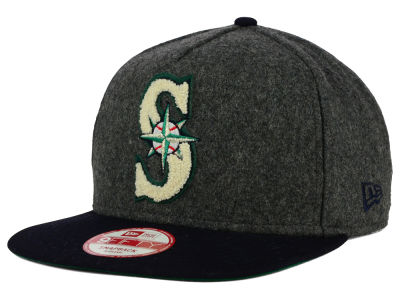 Seattle Mariners New Era MLB Chenille 9FIFTY Snapback Cap