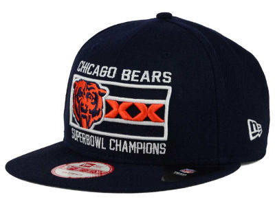 Chicago Bears New Era NFL Chicago Pack Series 9FIFTY Snapback Cap