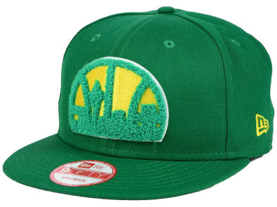 Seattle SuperSonics New Era NBA HWC Seattle Pack Series 9FIFTY Snapback Cap