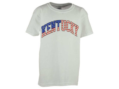 Kentucky Wildcats NCAA Youth Stars and Stripes Arch T-Shirt