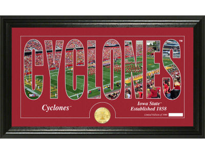 Iowa State Cyclones Word Art Photo Mint